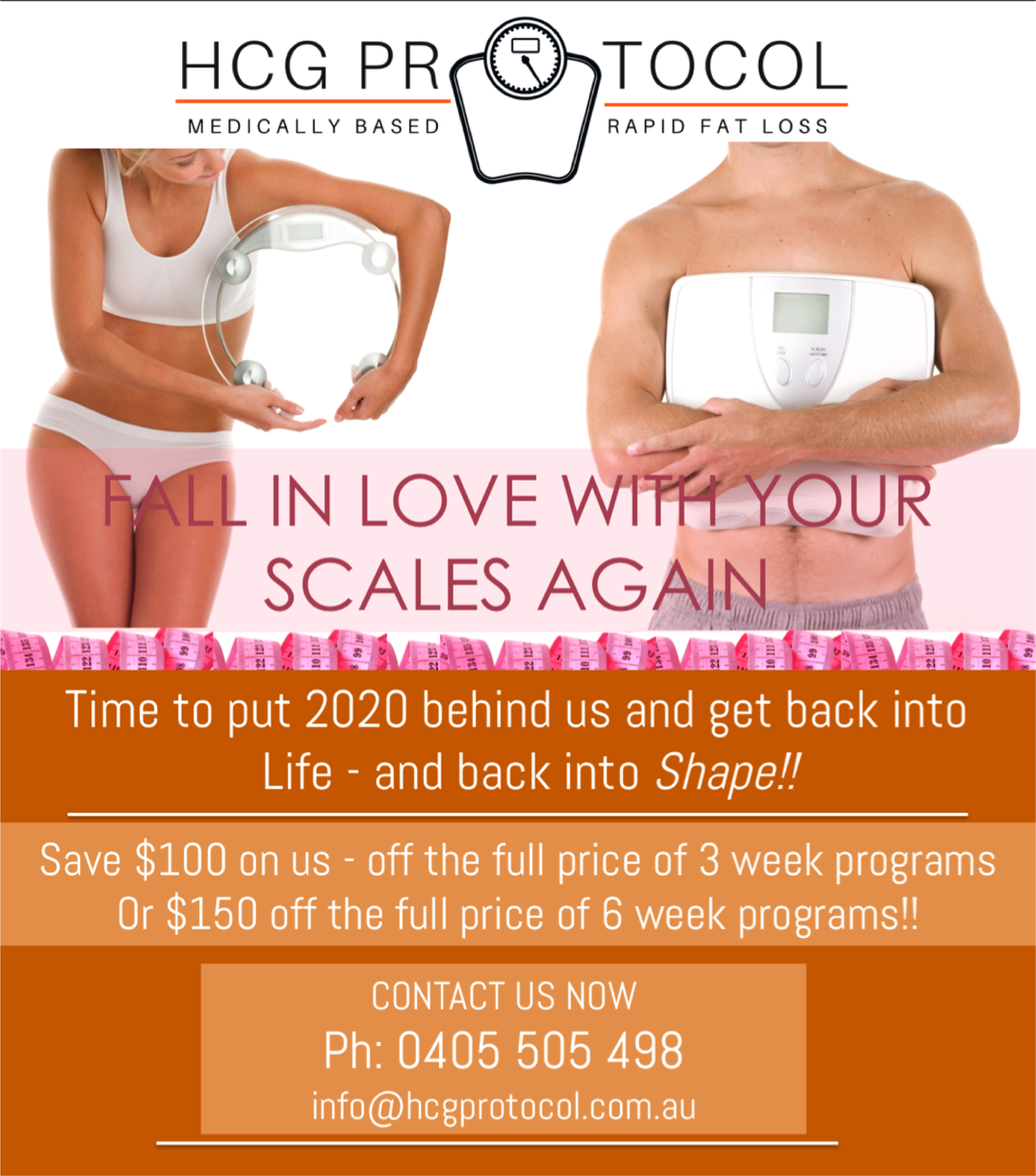 FALL IN LOVE WITH YOUR SCALES $100 OFF